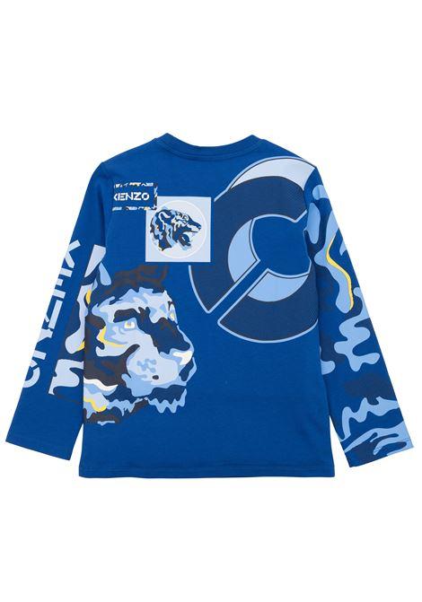 T-shirt with print KENZO KIDS | K25186T829