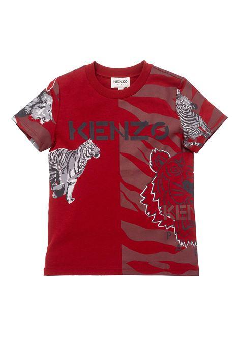 T-shirt with print KENZO KIDS | K2519096D