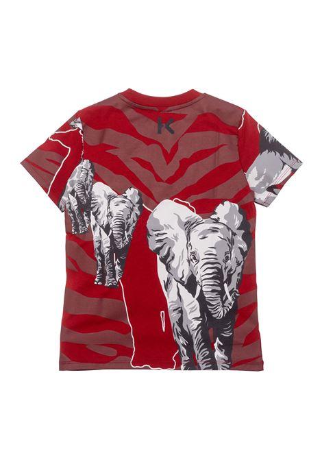 T-shirt with print KENZO KIDS | K25190T96D