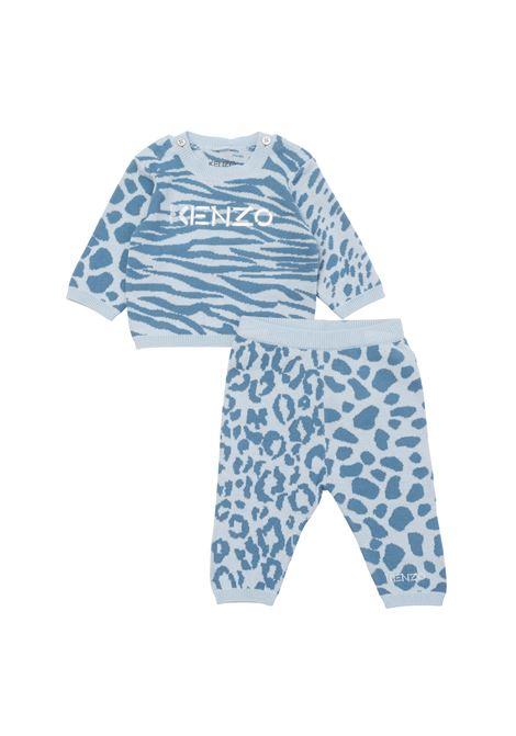 Sports suit with logo KENZO KIDS | K98019777