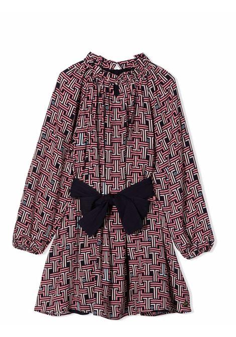 Little girl dress with belt LANVIN KIDS | N12027T859