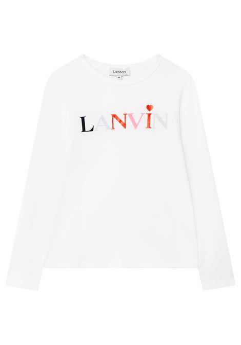 T-shirt con stampa LANVIN KIDS | N15036117