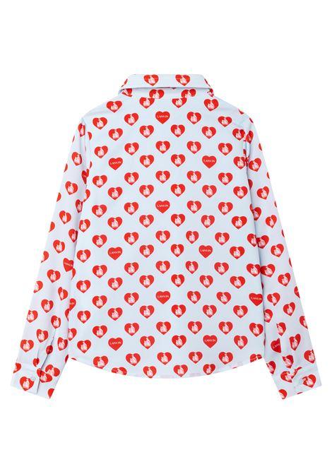 Camicia con stampa LANVIN KIDS | N15037T81H