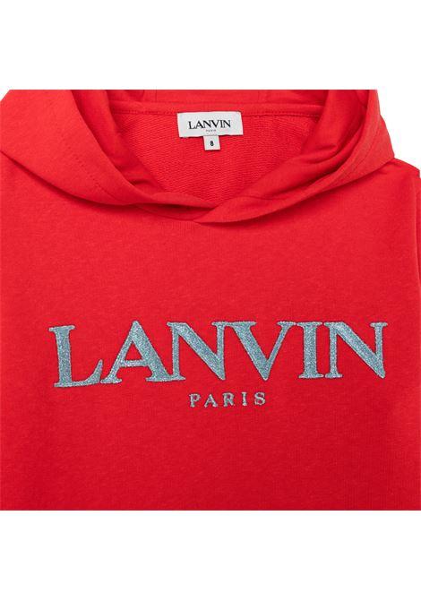 Felpa con stampa LANVIN KIDS   N15039997