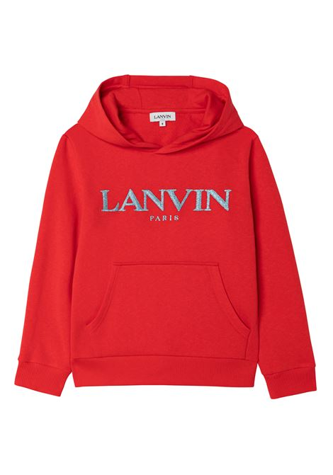 Sweatshirt with print LANVIN KIDS | N15039T997