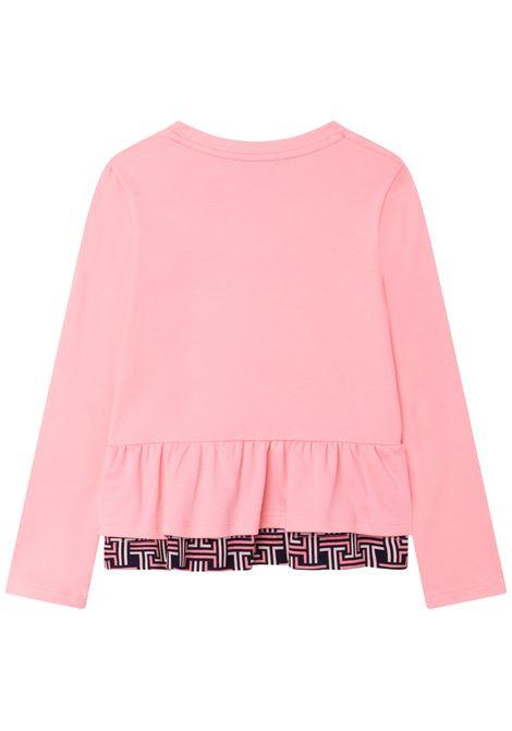 T-shirt a maniche lunghe LANVIN KIDS | N1504447B