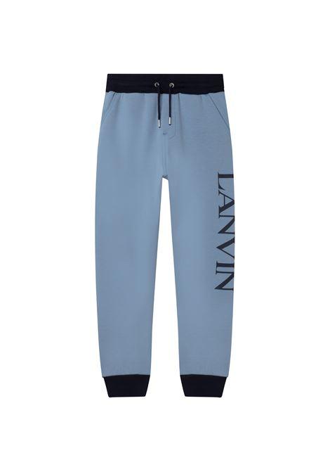 Pantaloni sportivi bicolore LANVIN KIDS | N24020T80C