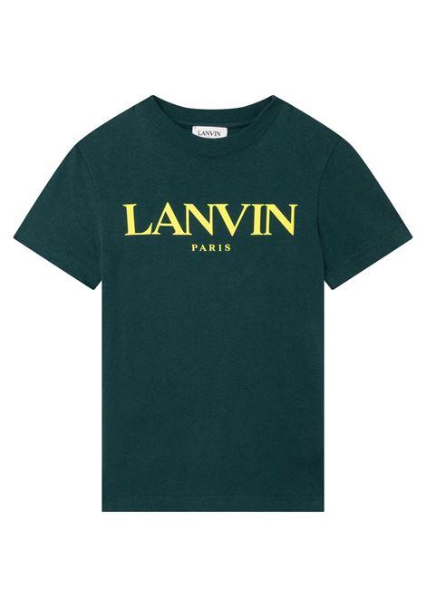 T-shirt with print LANVIN KIDS | N25041T666