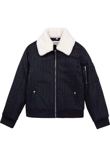 Trucker jacket with zip