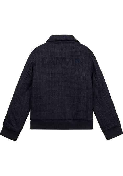 Trucker jacket with zip LANVIN KIDS   N26010T859