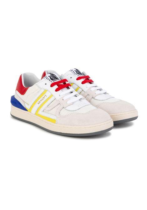 Sneakers with embossed logo LANVIN KIDS | N2901210B
