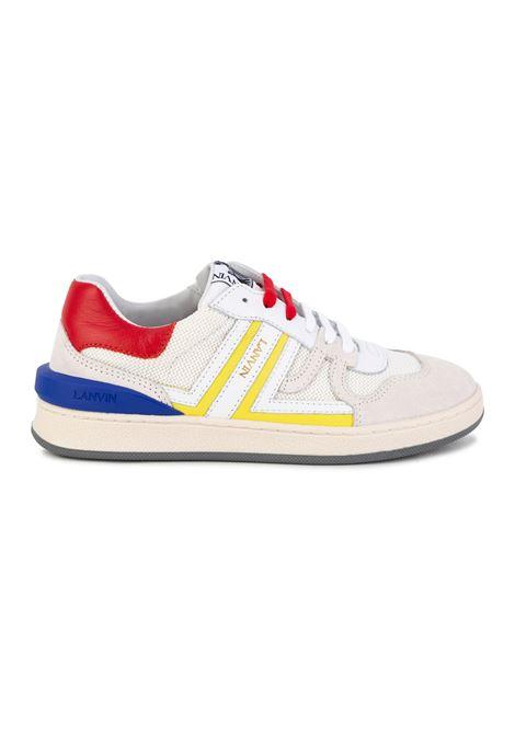 Sneakers with embossed logo LANVIN KIDS | N29012T10B