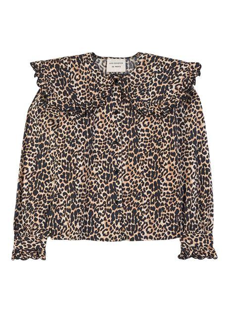 Shirt with ruffles LES COYOTES DE PARIS | FRANT249