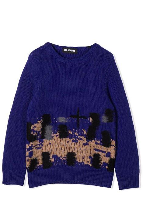 Ribbed sweater LES HOMMES | KLK130657U6610