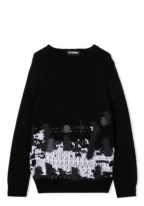 Ribbed sweater LES HOMMES | KLK130657U9018