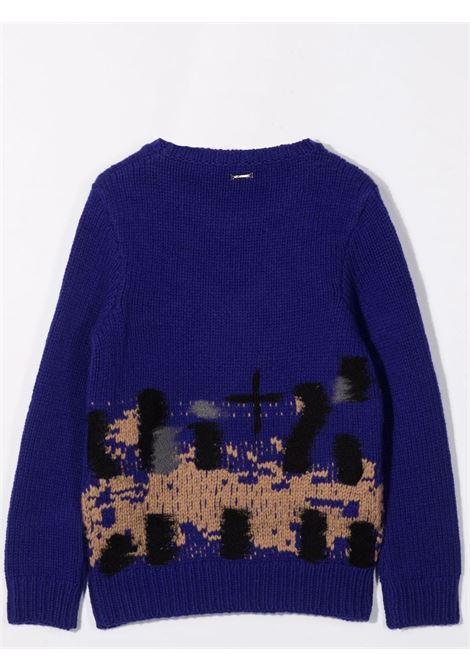 Ribbed sweater LES HOMMES | KLK130657UT6610