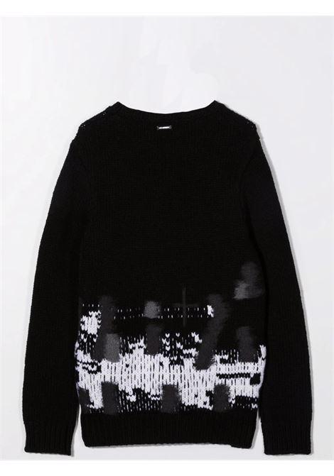 Ribbed sweater LES HOMMES | KLK130657UT9018