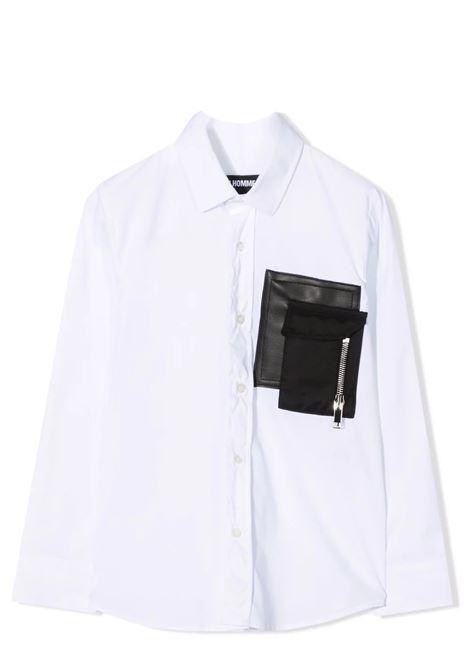 Camicia con taschino LES HOMMES | KLS506464L1000