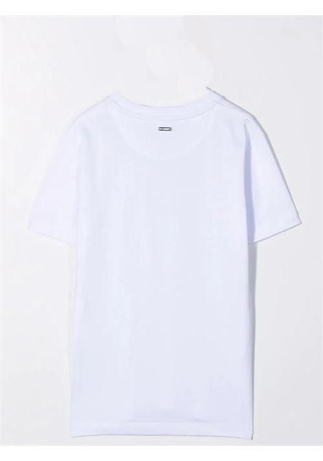 Crewneck T-Shirt with print LES HOMMES | KLT202739PT1000