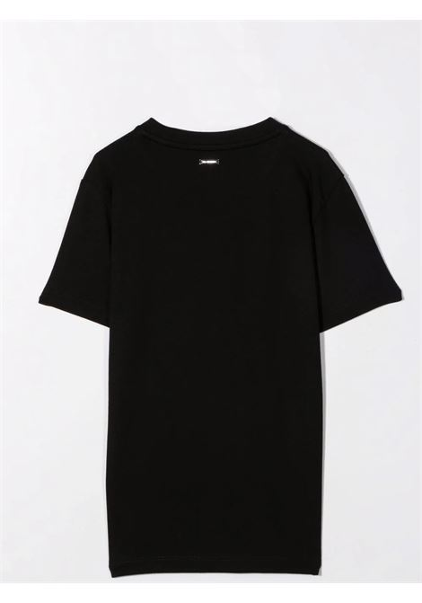 Crewneck T-Shirt with print LES HOMMES | KLT202739PT9000