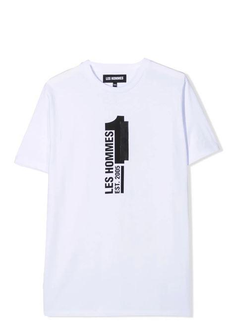 T-shirt with print LES HOMMES | KLT205739P1000