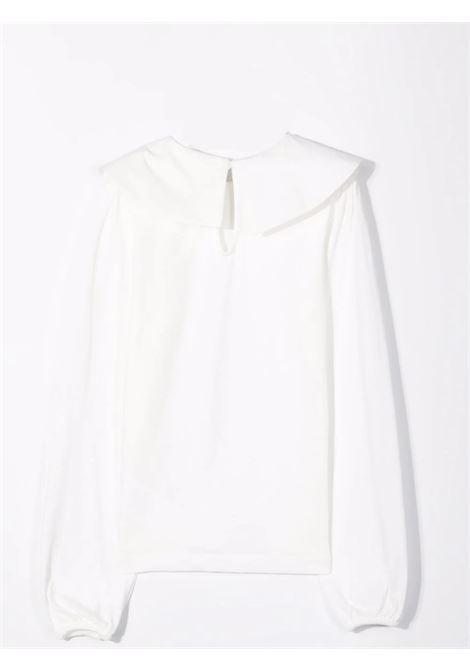 T-shirt con colletto oversize Lù-Lù BY MISS GRANT   LL058201