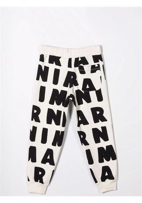 Pantaloni sportivi con stampa MARNI KIDS | M00214 M00KJ0M101