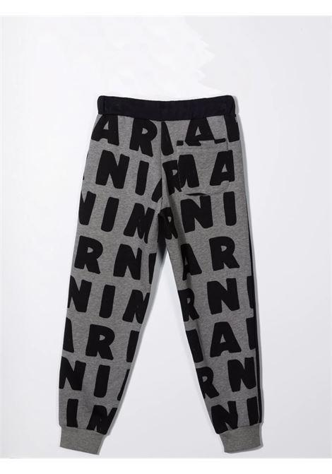 Pantaloni sportivi con stampa MARNI KIDS | M00214 M00KJT0M904