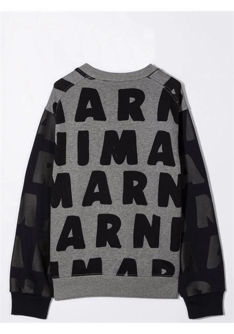 Sweatshirt with print MARNI KIDS | M00217 M00KJ0M904