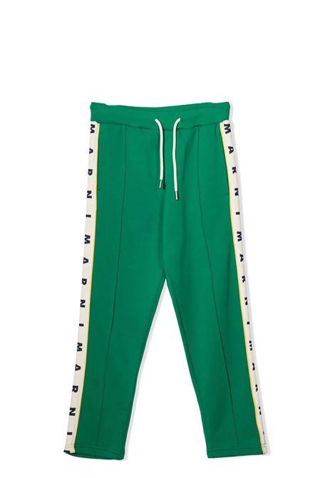 Pantaloni sportivi con stampa MARNI KIDS | M00300 M00KN0M523