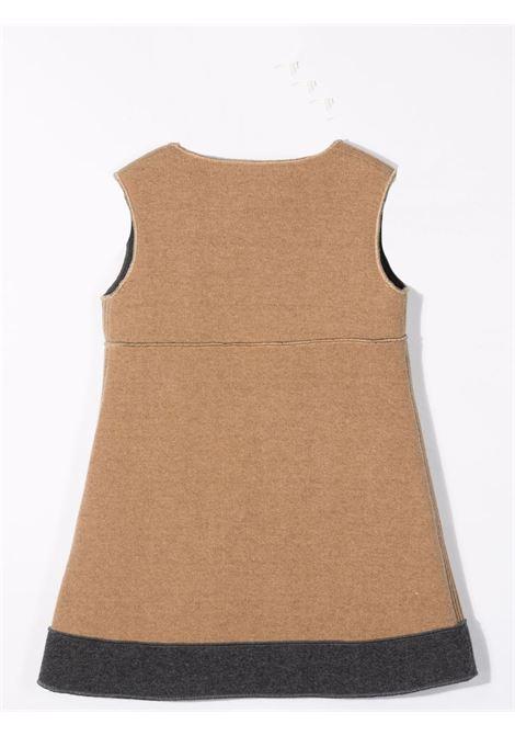 Dress with contrasting detail MIMISOL | MFAB315 TS0495BGE