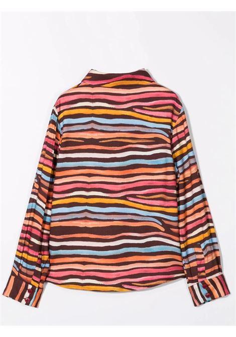 Shirt with print MIMISOL | MFCA038 TS0539MLT