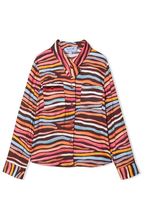 Shirt with print MIMISOL | MFCA038 TS0539TMLT