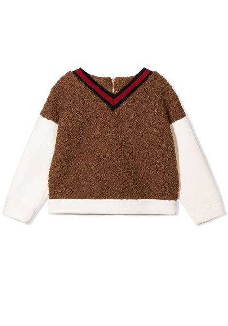 V-neck sweater MIMISOL | MFFE026 TS0516BRW