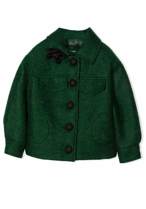 Bomber with application MIMISOL | MFGB017 TS0508GRN