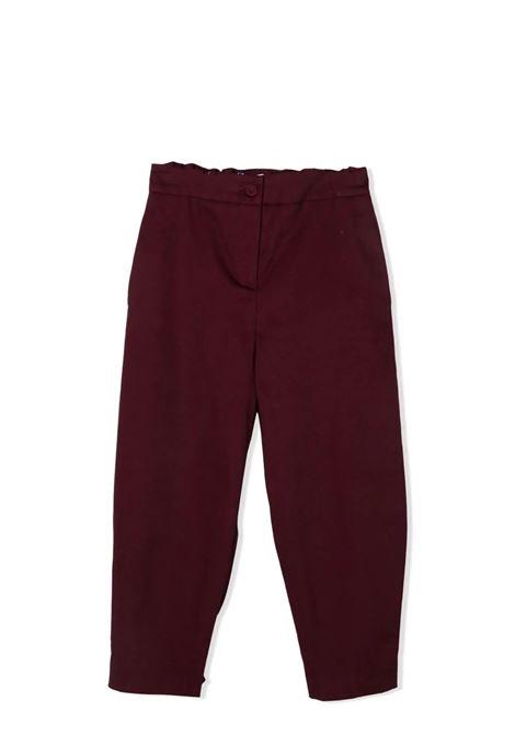 Straight pants MIMISOL | MFPA089 TS0489BRD