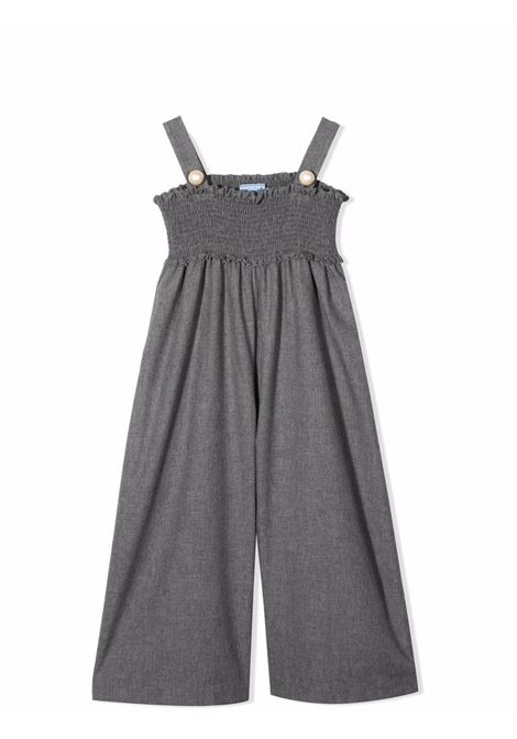 One-piece suit with wide leg MIMISOL | MFSA001 TS0285GRY