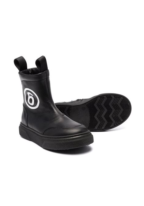 Boots with print MM6 KIDS MAISON MARGIELA | 68974T1