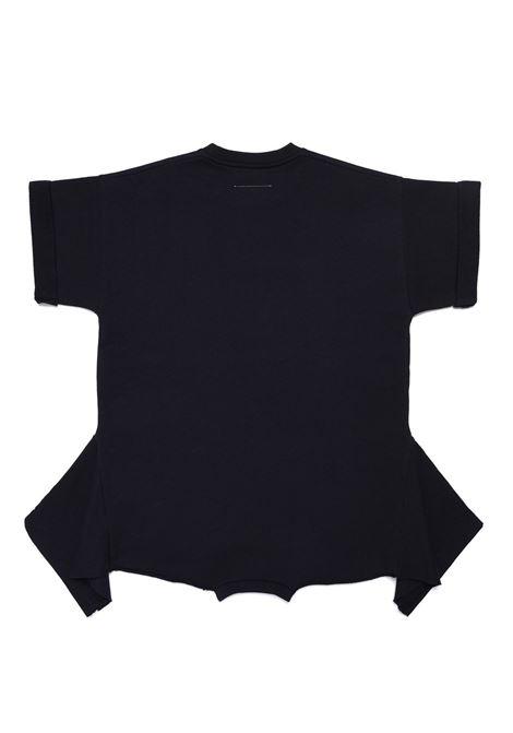 Abito modello T-shirt con stampa MM6 KIDS MAISON MARGIELA | M60023 MM007TM6900