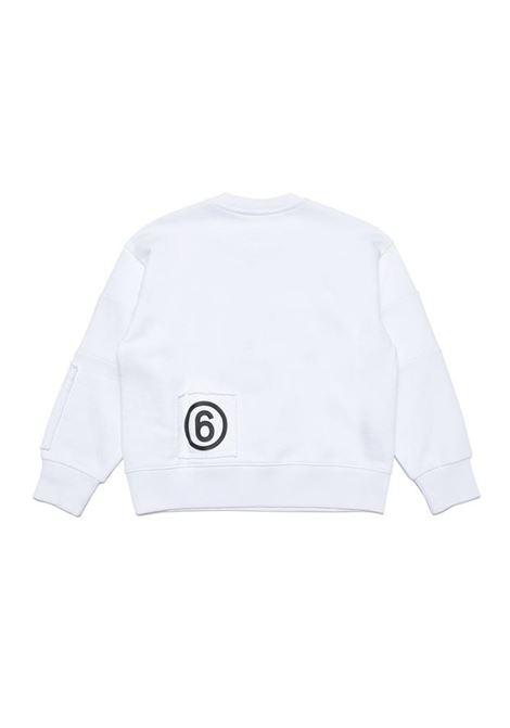 Crewneck sweatshirt with print MM6 KIDS MAISON MARGIELA | M60027 MM008TM6100