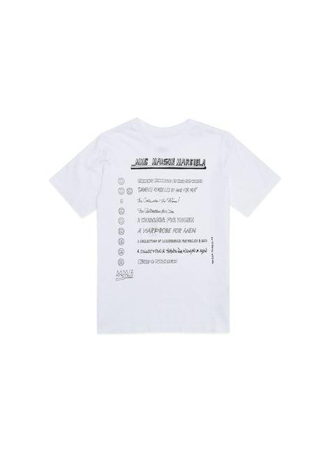 T-shirt with print MM6 KIDS MAISON MARGIELA | M60035 MM010TM6100