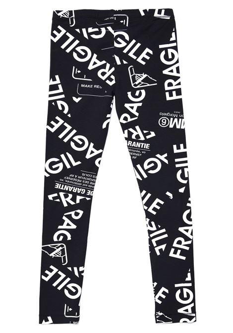 Leggings with print MM6 KIDS MAISON MARGIELA | M60038 MM033TM6900
