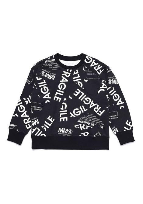 Crewneck sweatshirt with print MM6 KIDS MAISON MARGIELA | M60041 MM034M6900