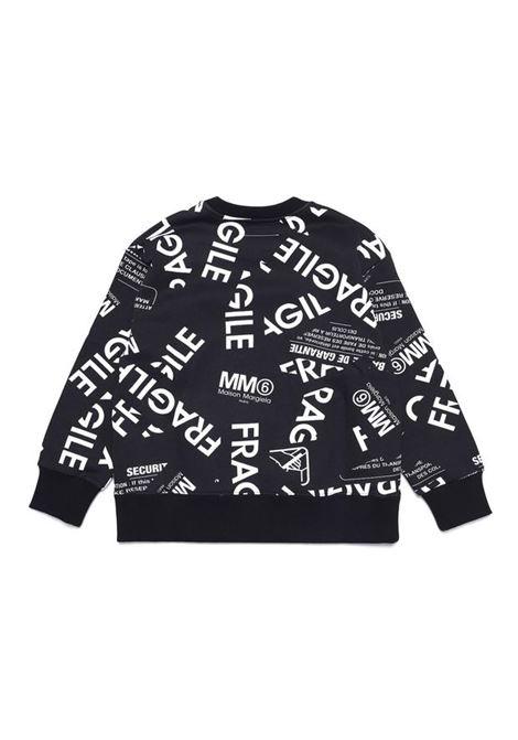 Crewneck sweatshirt with print MM6 KIDS MAISON MARGIELA | M60041 MM034TM6900