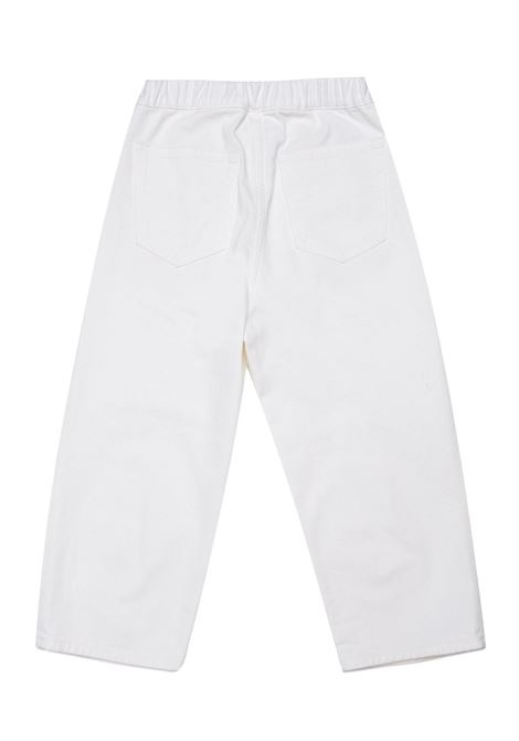 Pantaloni denim bianco MM6 KIDS MAISON MARGIELA | M60053 MM015M6101