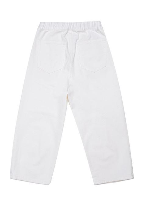 Pantaloni denim bianco MM6 KIDS MAISON MARGIELA | M60053 MM015TM6101