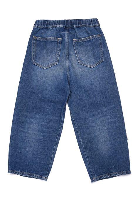 Jeans with print MM6 KIDS MAISON MARGIELA | M60062 MM018TM601