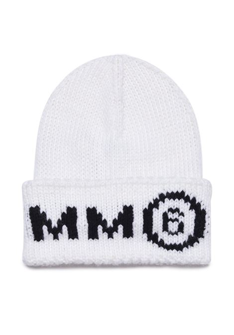 Wool hat with print MM6 KIDS MAISON MARGIELA | M60067 MM028M6100