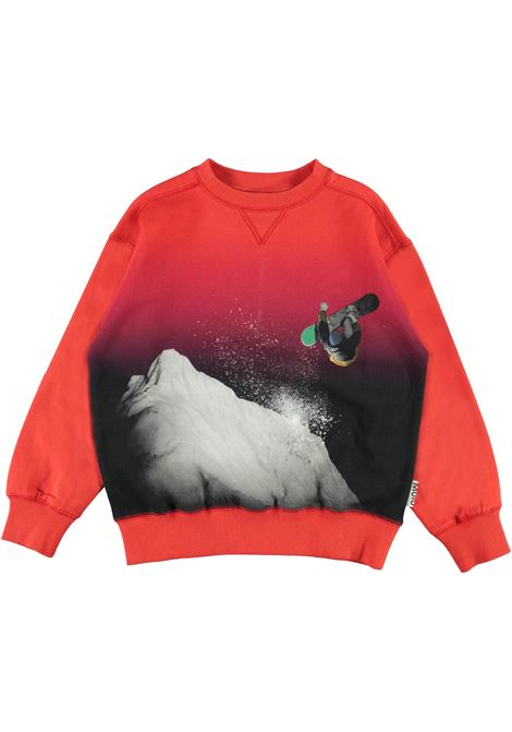 CHILD SWEATSHIRT WITH PRINT MOLO KIDS | 1W21J2217545