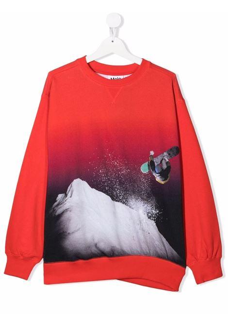 Crewneck sweatshirt with print MOLO KIDS | 1W21J221T7545